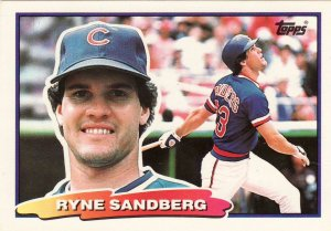 20 - RYNE SANDBERG Cards Chicago Cubs