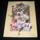 1987 MLB WORLD SERIES OFFICIAL PROGRAM CARDINALS vs TWINS