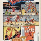 1988 Wheaties Michael Jordan Cartoon Full Color Advertisement