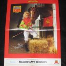 1989 SI for Kids Poster Julie Krone - Female Jockey