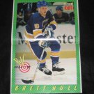 1989 SI for Kids BIG SHOTS Poster BRETT HULL Blues