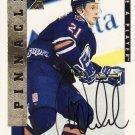 1996/97 Be A Player Autographs #166 Mariusz Czerkawski