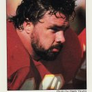 1986 Chiefs Police #4 Brad Budde Football Card