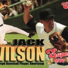 2007 Jack Wilson Pittsburgh Pirates Super MVP Baseball Card