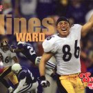 2006 Pittsburgh Steelers Hines Ward Super Bakery Football Card