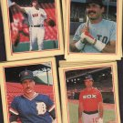 1982-1988 Baseball Sticker Cards 138 Total w/2 Albums