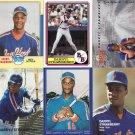 30 Darryl Strawberry Baseball Cards New York Mets Oddball Cards