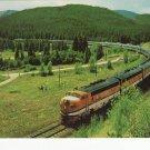 WESTERN PACIFIC RAILWAYS Vista-Dome California Zephyr Color Postcard Rio Grande