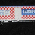 HO Scale Tyco BillBoard Box Train Car Ralston Purina Co. HONG KONG