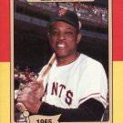 1986 Big League Chew #3 Willie Mays NY Giants