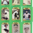 1987 Hygrade All-Time Greats Card Set Clemente, Mantle, ERNIE Banks, Aaron.