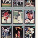 15- 1991 & 92 Magazine Promo Cards Earnhardt, Clemens, Ted Williams, & Frank Thomas Poster