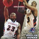 2011 Duquesne Dukes Basketball Gameday Program vs Penn State