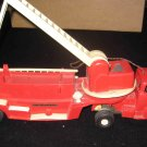 Vintage General Molds & Plastics Electric Ladder Remote Control Toy Fire Truck Engine