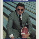 Joe Paterno Penn State 1992 Front Row All American Football PROMO Card