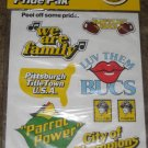 1980 Pittsburgh Pirates Pride Pak World Champions Stickers New Unused Sealed