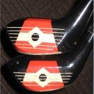 Vintage Ram Bob Rosburg Star Flite Golf Woods, Irons & Putter Set Cycolac Woods