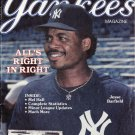 Yankees Magazine September 1989 Jesse Barfield NYY