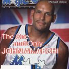 Orlando Magic Magazine January 2000 John Amaechi NBA