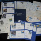 Large Lot of NASA & Air Flight Stamp Achievement Items FDC Numbered Block First