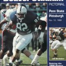 Penn State Football Beaver Stadium Pictorial Nov 12, 1988 vs Pitt