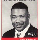 1999 PA BIG 33 Blair Thomas Penn State Football Pennsylvania High School Ohio