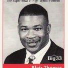 1999 PA BIG 33 Blair Thomas Penn State Football Pennsylvania High School Ohio