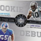 2006 Upper Deck Rookie Debut Draft Link Julius Peppers & Lavar Arrington #DDL-61