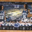 2009-10 Penn State Men's Basketball Schedule Poster NEW