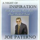 2010 Joe Paterno Night of Inspiration Program Penn State Football NEW