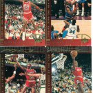 5 - Michael Jordan 1994-95 Upper Deck Jumbo Heroes Cards Chicago Bulls No Dupes