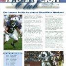 2005 Penn State Nittany Lion Club Magazine Paul Posluszny, Michael Robinson