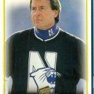 1997 Press Pass Coach GARY BARNETT #47 GOLD Northwestern WILDCATS