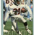 1993 Fleer Fruit of the Loom Deion Sanders #2 Falcons