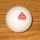 O Cedar Scrubbee Vintage Logo Golf Ball #1 Faultless UnHit Trevino