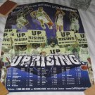 2005-06 Nittany Lions Basketball Schedule Poster UPRISING NEW