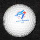 Toronto Blue Jays 92-93 Baseball World Champions Logo Golf Ball 1992 - 1993