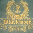 "Blackmoor Golf Club Logo Golf Towel 16"" x 26"" Thick JacQuard Cotton MILLER GOLF"
