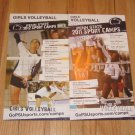 2011-12 Penn State Women's Volleyball Camp Card Posters Megan Hodge Blair Brown
