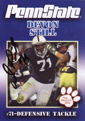 2011 Second Mile DEVON STILL Penn State Trading Card