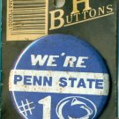 Penn State Football We're #1 Button Hot Buttons