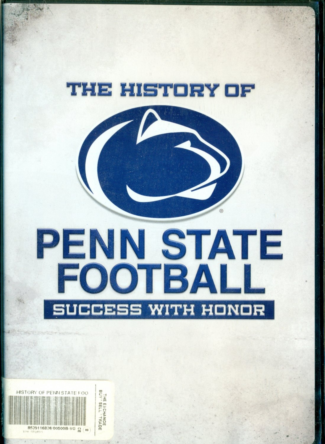 Penn State success with honor aka bullshit