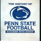 The history of Penn State Football Success with Honor DVD  JOE PATERNO