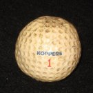 Vintage Koppers #1 Golf Ball
