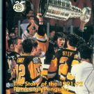 1991-92 PITTSBURGH PENGUINS VHS AGAINST THE ODDS Stanley Cup Mario Lemieux