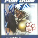 2008 Second Mile Jared Odrick Penn State Autographed Trading Card Jaguars