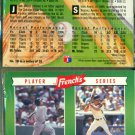 20 - 1992 FRENCH'S BASEBALL PLAYER COMBO SERIES COMPLETE CARD SET GRIFFEY, RIPKEN NEW / SEALED