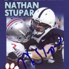 2010 Second Mile Nathan Stupar Signed Penn State Trading Card