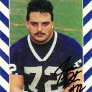 1990 Second Mile Jim Deter Signed Penn State Trading Card