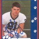 1993 Second Mile Kyle Brady Signed Autographed Penn State Trading Card